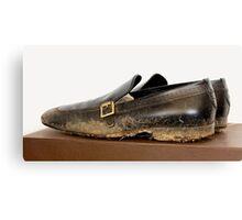 Billionaire Genshiro Kawamoto: Big Shoes To Fill. Canvas Print