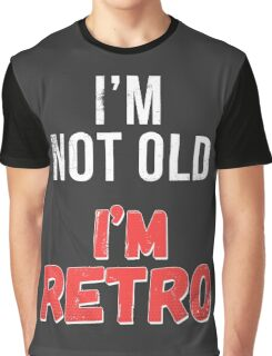 Funny Retro Birthday T Shirt Graphic T-Shirt