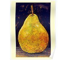 Pear - Still Life. Poster
