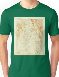 USGS TOPO Map California CA Haystack Mountain 296157 1919 31680 geo Unisex T-Shirt