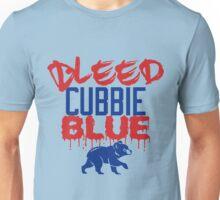 Bleed Cubbie Blue Cubs World Series 1908 2016 Unisex T-Shirt
