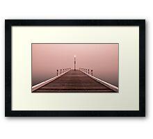 """Promenade In The Mist"" Framed Print"