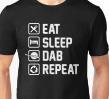 Eat Sleep Dab Repeat Unisex T-Shirt
