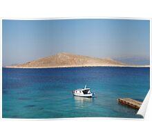 Ftenegia boat, Halki Poster