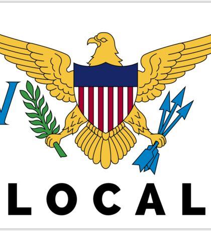 UNTIED STATES VIRGIN ISLANDS LOCAL USVI SAINT THOMAS JOHN CROIX Sticker