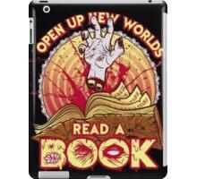 Evil Dead read a book.... iPad Case/Skin