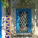 Blue Window by Christine Anna Wilson