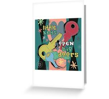 Little Keys Greeting Card