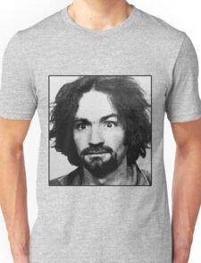 Charles Manson Mugshot Unisex T-Shirt