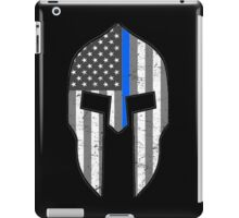 American Spartan Thin Blue Line  iPad Case/Skin