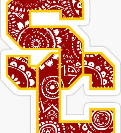 USC Doodle Sticker