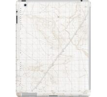 USGS TOPO Map California CA Bitter Spring 100359 1996 24000 geo iPad Case/Skin