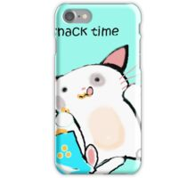 snack time iPhone Case/Skin