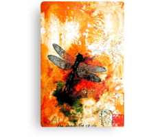 The Nature of Things...The Dragonfly Metal Print
