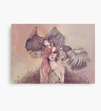 Eagle princess Metal Print