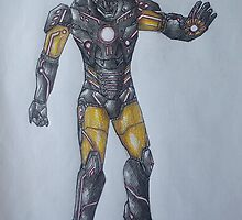 Iron Man Tron Concept by Daniel Almeida