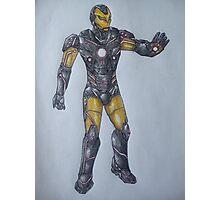 Iron Man Tron Concept Photographic Print