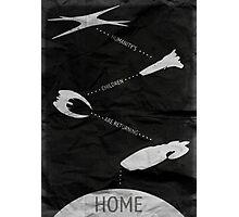 Humanity's Children Are Returning Home - Battlestar Galactica Art Photographic Print