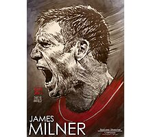 James Milner - Liverpool FC Photographic Print