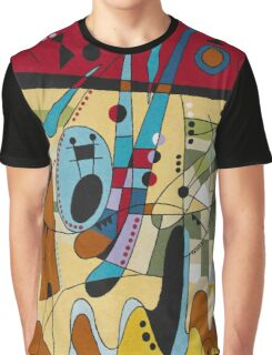 Joan Miro - Carnival Red  Graphic T-Shirt
