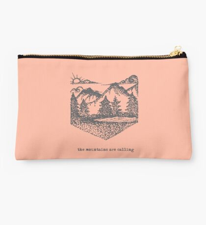Mountains Are Calling Studio Pouch