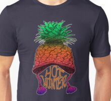 Hot Pineapple Winter Unisex T-Shirt