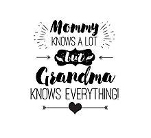 Grandmothers gift Photographic Print