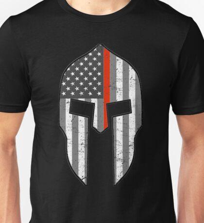 American Spartan Thin Red Line  Unisex T-Shirt
