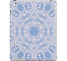 Abstract arabesque ornament in Rose Quartz and Serenity Blue iPad Case/Skin