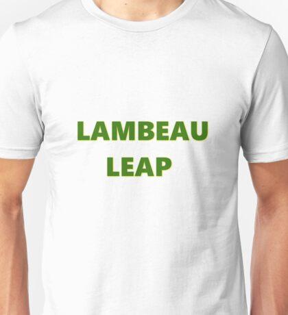 LAMBEAU LEAP Unisex T-Shirt