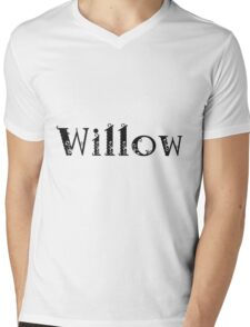 Willow Mens V-Neck T-Shirt
