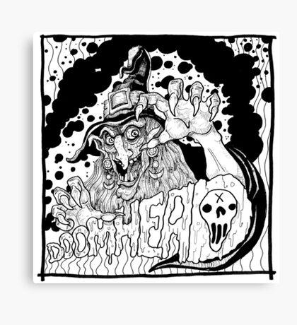 Hail Doomhead Canvas Print