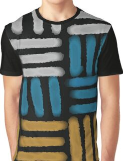 Geometric Pattern Block No. 10 Graphic T-Shirt