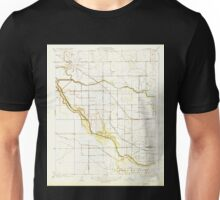 USGS TOPO Map California CA Burrel 295961 1927 31680 geo Unisex T-Shirt