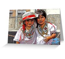 Cuenca Kids 505 Greeting Card