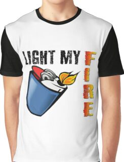 Light My Fire The Doors Rock Music Quotes Graphic T-Shirt