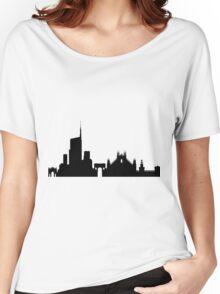 Milan skyline Women's Relaxed Fit T-Shirt
