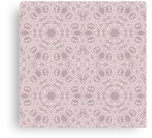Elegant design with abstract ornament Canvas Print