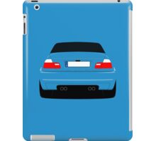 E46 rear-end iPad Case/Skin