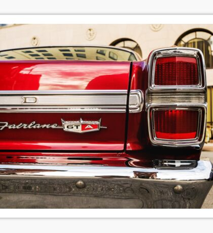 Fairlane GTA - TRA0151 Sticker