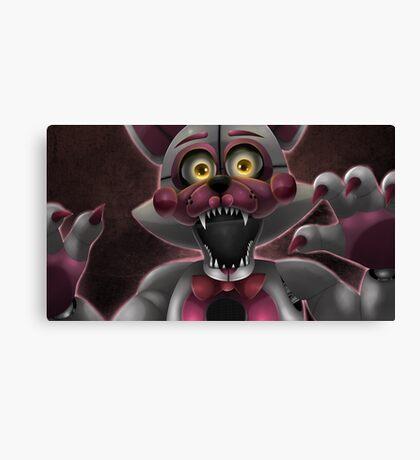 Funtime Foxy Canvas Print