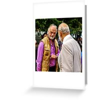 Guess who ... beards HRH Prince Michael of Kent Greeting Card
