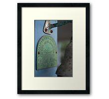 Day 8 - Green Framed Print