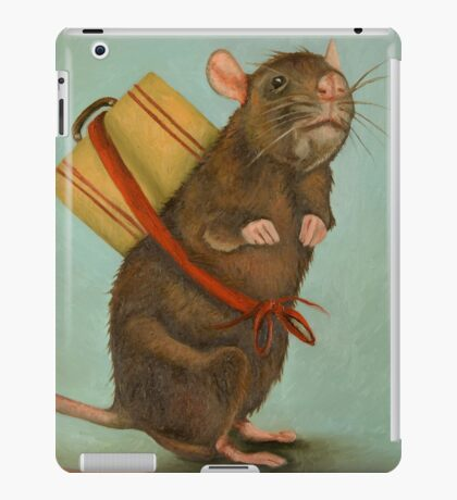 Pack Rat iPad Case/Skin