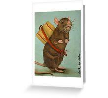 Pack Rat Greeting Card
