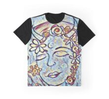 Alma and the butterfly. Graphic T-Shirt