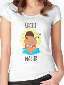 Ukelele Master Women's Fitted Scoop T-Shirt