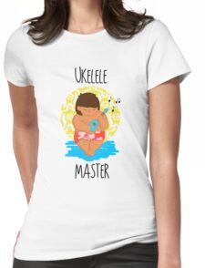 Ukelele Master Womens Fitted T-Shirt