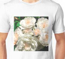 Italian Peach Roses Digital Photo Unisex T-Shirt