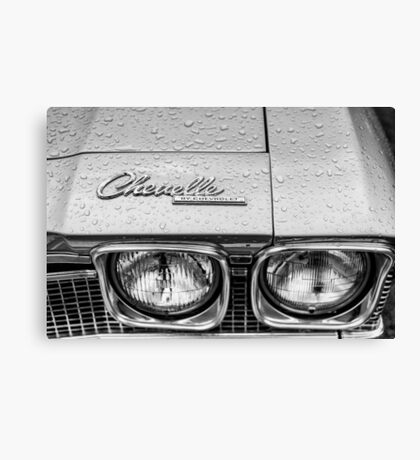Chevelle by Chevrolet - TRA0163 Canvas Print